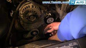 how to install replace engine serpentine belt chevy silverado gmc how to install replace engine serpentine belt chevy silverado gmc sierra 1500 4 3l 99 06 1aauto com