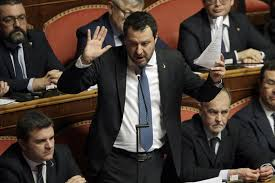 Salvini basically focus against immigration the rest of his program is quite blurry, is often called i don't think we can define salvini as fascist. Prosecutor Salvini Should Not Be Tried For Migrant Policy