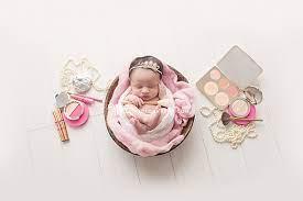 baby photoshoot makeup