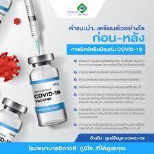 คำแนะนำ...เตรียมตัวอย่างไร ก่อน-หลัง การฉีดวัคซีนป้องกัน COVID-19
