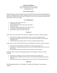 free day care teacher resume template sample ms word .