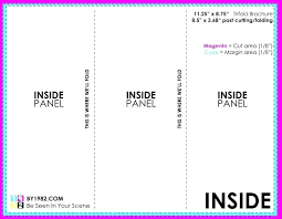 Foldable Brochure Template Free Indesign 3 Fold Brochure Template
