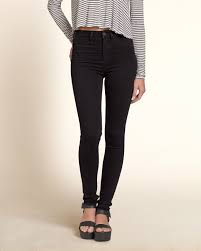 Cielo Women s Mid rise Skinny Color Jeans Black 7075 1 Style.