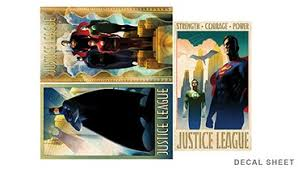 on art deco style wall decals with justice league art deco poster wall decals 2