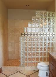 seattle glass block waterproof pan custom tile fundo intended for shower blocks ideas 3
