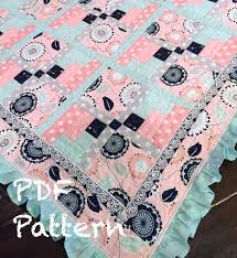 Ruffle Baby Quilt Pattern baby girl Quilt Patter Baby & 🔎zoom Adamdwight.com