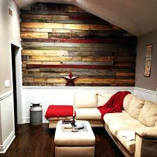 pallet accent wall diy wood