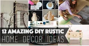 Diy Rustic Home Decor Ideas Model Custom Decorating Ideas