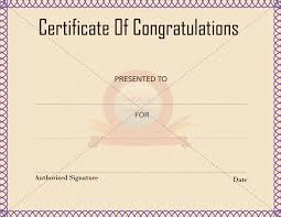congratulation templates 24 best congratulation certificate templates images on pinterest