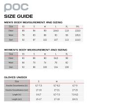 Poc Helmet Size Chart Poc Avip Ss Jersey Orange