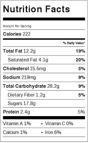 the best chocolate chip cookies not gluten free nutrition label each serving is