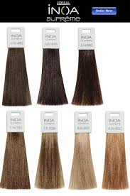 Loreal Inoa Hair Color Chart Bedowntowndaytona Com