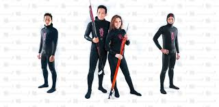 Hammerhead Benthos Black 1 5mm 3mm Freedive Spearfishing Wetsuit