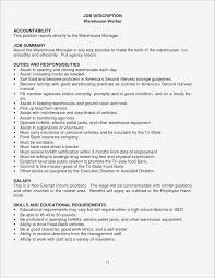 Warehouse Worker Objective For Resume Examples Resume Examples for Warehouse Worker Samples Business Document 32