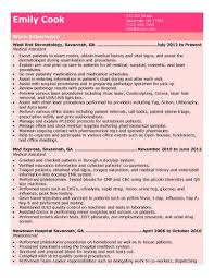 Example Of Medical Assistant Resume - Resume And Cover Letter ...