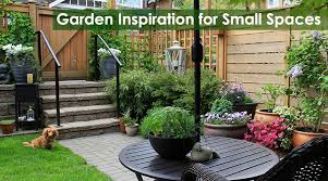 garden inspiration for small spaces