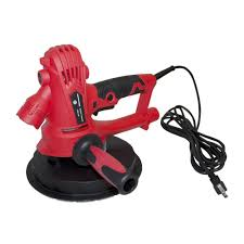 aleko 800 watt electric variable sd drywall sander with vacuum and led light