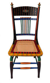 whimsy furniture. hand painted chairs custom handpainted furniture with a bright happy whimsical whimsy s