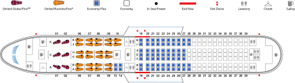 United Plane Seating Chart United Seat Layout Wild About Travel