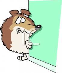 תוצאת תמונה עבור scared dog