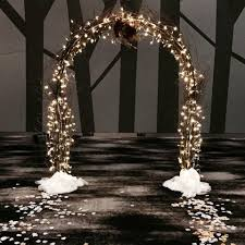 Crystal Chic Fairy Lights Fairy Light Arch With Willows Fairy Lights Wedding Prom
