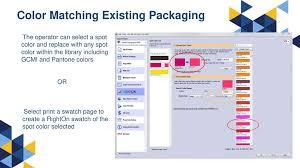 Gcmi Color Chart Designing Artwork For Digital Printing Minimizing Ink Usage