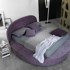 Bedroom Design Round Purple Bed Furniture For Modern Bedroom Design