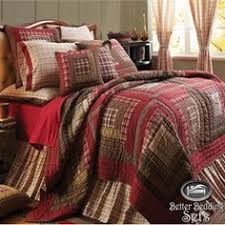 texas quilts or comforters | ... -Black-Western-Star-Twin-Queen ... & Details about Red Rustic Country Log Cabin Twin Queen Cal King Oversized  Quilt Bedding Bed Set Adamdwight.com