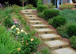 Small Picture Landscape Design Garden Stairs Garden stairs Gardens and Sloped