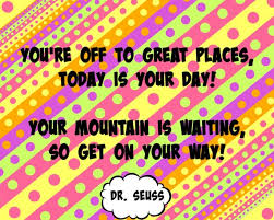 Dr Seuss Oh The Places You Ll Go Quotes Gorgeous Dr Seuss Oh The Places You'll Go Quote Digital Poster