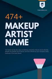 makeup artist insram names ideas