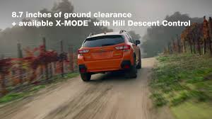 2018 subaru ground clearance. wonderful 2018 the allnew 2018 subaru crosstrek and subaru ground clearance