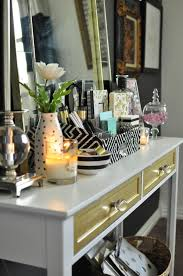 black white home office inspiration. This Black, White \u0026 Gold Home Office Is Filled With DIY Projects And Inspiration That Black T
