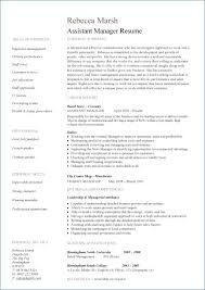 Retail Store Manager Resume New Retail Store Manager Resume
