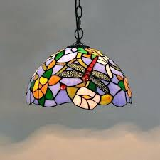 stained glass light dragonfly lamp pendant light small kitchen hanging lamps french country stained glass light stained glass window light box