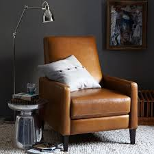 sedgwick leather recliner