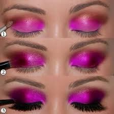 bright eye makeup face chart graphic eyeliner mac mac makeup looks purple eyeshadow red eyeshadow runway makeup1