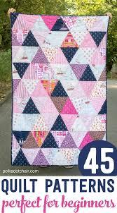 Best 25+ Beginner quilt patterns ideas on Pinterest | Beginner ... & 45 Beginner Quilt Patterns and Tutorials Adamdwight.com