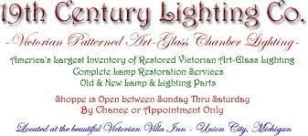 hanging lamp 19th century lighting co