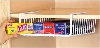 Under Cabinet Shelf Kitchen Under Shelf Storage Bins 17 Best Ideas About Under Cabinet Under