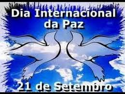 Image result for dia internacional da paz