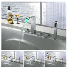 enlarge image s1305cm high quality led thermal waterfall bathroom