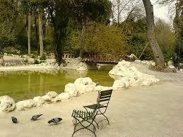 a royal walk around the national garden of athens