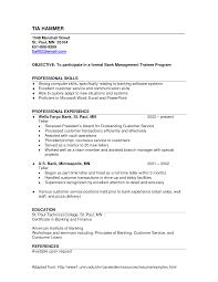 Bank Resume Format Resume Cv Cover Letter