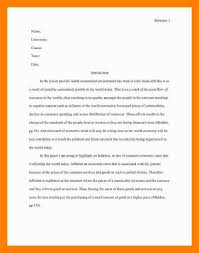 005 Essay Example Asa Format Sample Mla Style One Aspect Of The