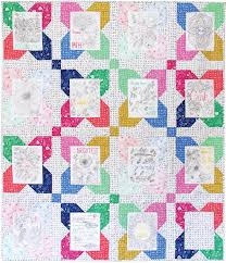 Kayajoy » Wise Words Quilt – Free Pattern & Rather than placing the coordinating prints randomly around the sayings  which might make it confusing to look at, organizing them in a particular  layout ... Adamdwight.com