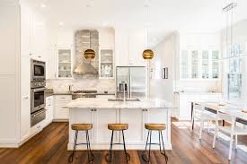 Transitional Kitchen Designs Mesmerizing George Washington Toma For A Transitional Kitchen With A Wood Bar