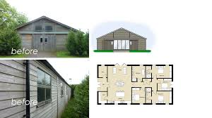 Approved conversion of barn under Class Q permitted development