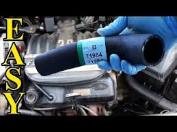 how to replace a radiator hose upper and lower