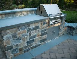 bluestone countertops outdoor kitchen blue stone countertop that